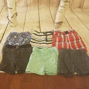 Lot of Toddler Shorts (6 pairs)
